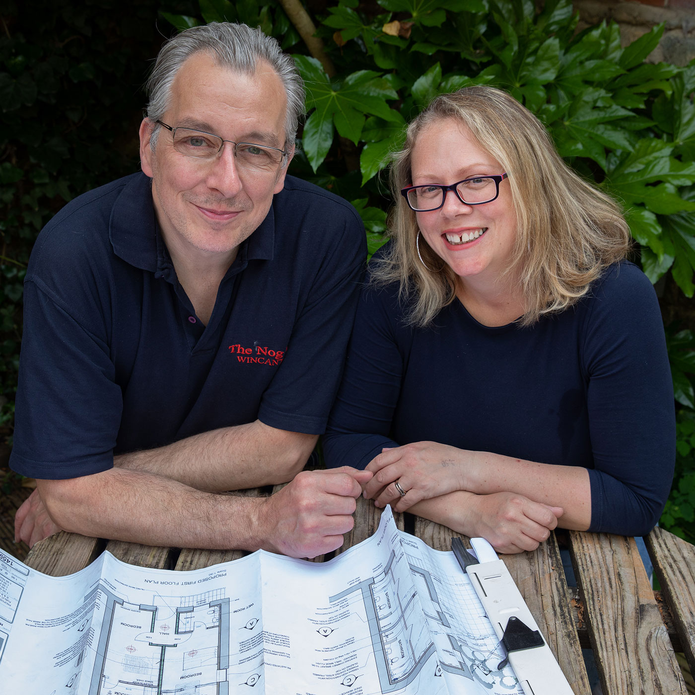 Will and Amy, owners of The Nog Inn in Wincanton